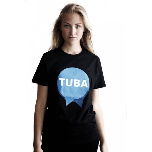 T-shirt: med TUBA-logo